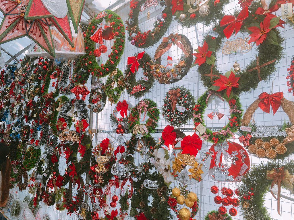ピンク教会クリスマス