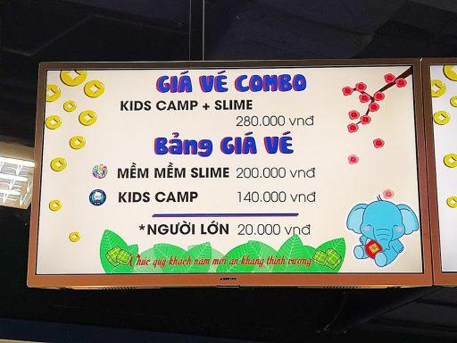 kid camp 料金表