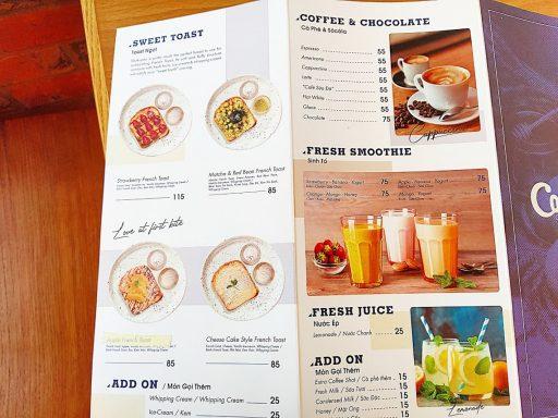 Conservo menu