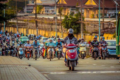 ベトナム 渋滞