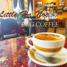 littele hanoi egg coffee ho chi minh