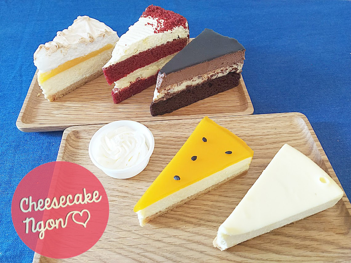 cheese cake ngon ホーチミン